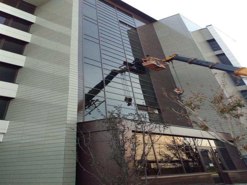 明框玻璃幕墙 维修 幕墙安装